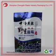 Colorful printed aluminum foil food packaging bags for dry fruit