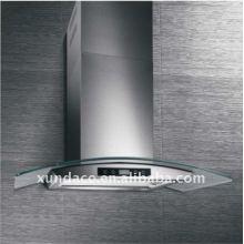 Stainless Steel Tempered Glass Kitchen Range Hood