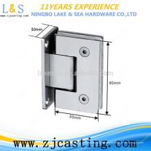 BJ-019 Nueva abrazadera de vidrio redondo de acero inoxidable con alta calidad