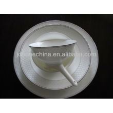 Líneas de rayas decoración completa nuevamente diseñado hueso china melamina