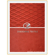 Tejido de tejido triángulo para zapatos y cortina