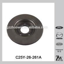 Fina Mazda M5 BK / BL piezas de repuesto disco de freno C25Y-26-261