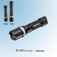 Rotary Dimming CREE XP-E Police LED Flashlight (POPPAS-T824 T825)