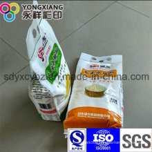 Portable PA Laminated Grains/Flour/Rice Plastic Packaging Bag