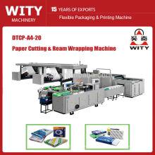 2015 modelo de alta velocidad DTCP serie automática de tamaño A4 de papel de corte de papel de la máquina