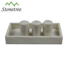 Wholesale White Dinner Table Marble Serving Tray