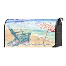 Benutzerdefinierte Outdoor Strandkorb Magnetic Mailbox Cover