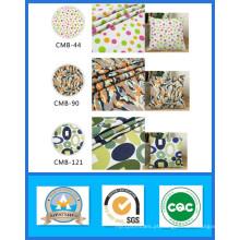 Mil ações de 100% algodão impresso tela de lona peso 191GSM largura 150 cm