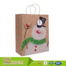 Fabricantes de paquetes Oem / Odm 100% Reciclado de regalo Compras Carrier Embalaje Barato Bolsas de papel Brown Craft