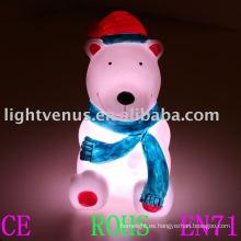 2011 nueva luz de la noche de Navidad