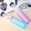 красочные матовый стеклянная бутылка воды бутылка портативный