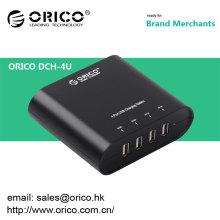 2014 mejor venta ORICO DCH-4U 4 puerto usb cargador
