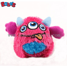 "4"" Cute Pink Color Stuffed Pet Toy with Squeaker for Puppy and Dog Bosw1064/10cm"