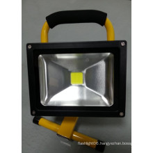 20W 6600mAh LED Outdoor Rechargeable Floodlight