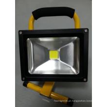 20W 6600mAh LED exterior recarregável Floodlight