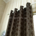 Elegant soft touch fabric curtain GF027-4