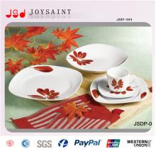 Горячая продажа Squared керамическая посуда (SD116-S017)