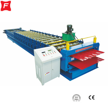 Toiture double IBR rouleau formant la machine
