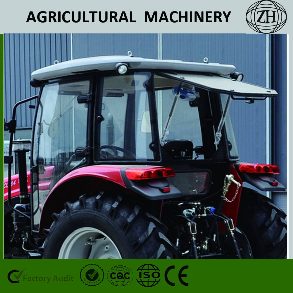 Custom 4x4 4WD 70 HP Wheel Farm Tractors con CE