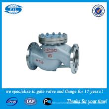 Перекидной обратный клапан WCB или нержавеющей стали, используемый в поставщике фарфоровой азотной кислоты