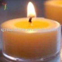 big white candles