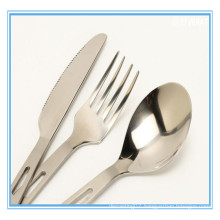 Western tableware made of pure titanium with various sizes