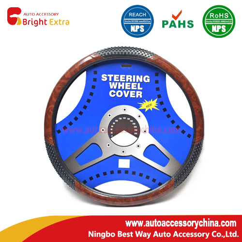 Shaggy Steering Wheel Cover