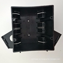 YGC-017 Caja de conexiones eléctrica de plástico impermeable ip65 a prueba de fuego