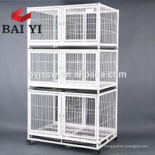 Descuento grande 3tiers Wire Cat Cage Malasia con ruedas