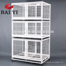 Large Discount Wholesale 3tiers Wire Cat Cage Malaysia With Wheels