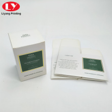 Custom Paper Candle Boxes Packaging For Candles Jars