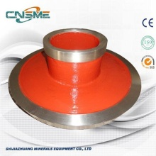 Heavy duty anti-abrasion slurry pump parts