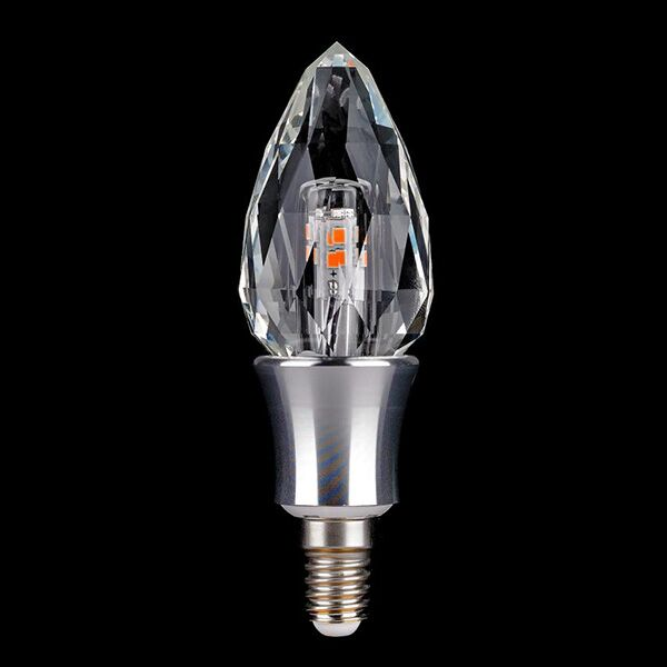 E14 3W Decorative LED crystal candle light