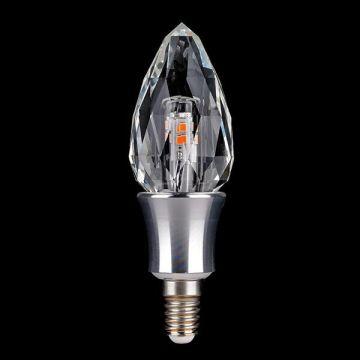 E14 3W Decorative LED crystal candle light