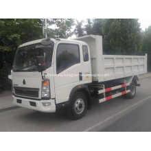 Sinotruk Howo Camión volquete de servicio liviano 116 CV
