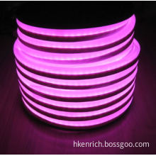 High Brightness Pink Mini LED Neon Tube Flexible Light