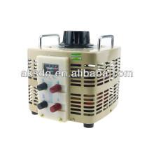 Regulador de voltagem monofásico TDGC / Variador / transformador variável