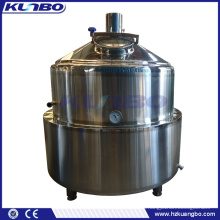 KUNBO Beer Brewery Jacket Mash Boiling Tank Whirlpool System