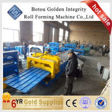 Botou golden integrity various models glazed sheet cold roll forming machine manufacture
