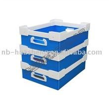 pp corrugated plastic container