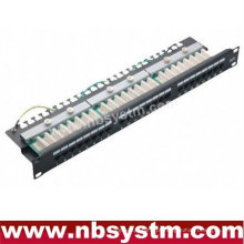 "24 portas UTP Cat5e Patch Panel 19 ""1U"