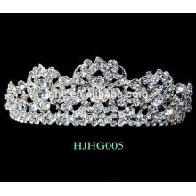 Las tiaras nupciales de la boda de las muchachas corona tiaras lindas de la manera de las tiaras para las mujeres la corona de la corona de la flor de la margarita