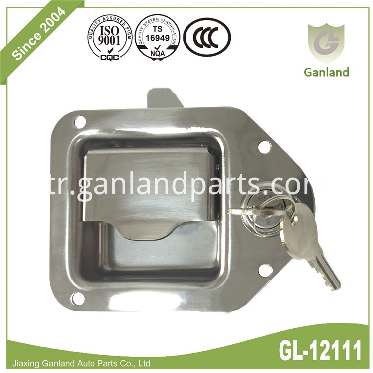 Recessed Paddle Lock GL-12111