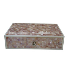 New Design Pink Shell Hotel Amenity Box for Wholesale