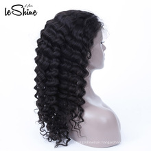 Natural 100% Cuticle Aligned Unprocessed Virgin Full Lace Wig For Women