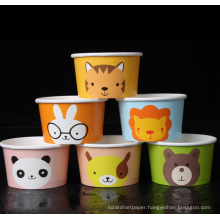 ice cream beverage disposable paper cup