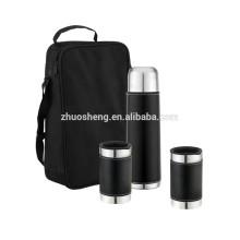 ensembles-cadeaux inox 350ml Bouteille isotherme 300ml de café tasse BT001