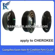 Cherokee 6pk 7h13 embreagem de compressor de carro