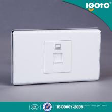 Socket de dados padrão americano com PC Material de cobre