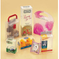 Caixa de embalagens de alimentos de plástico transparente de alta qualidade